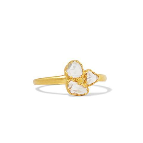 18-Karat Gold Diamond Ring