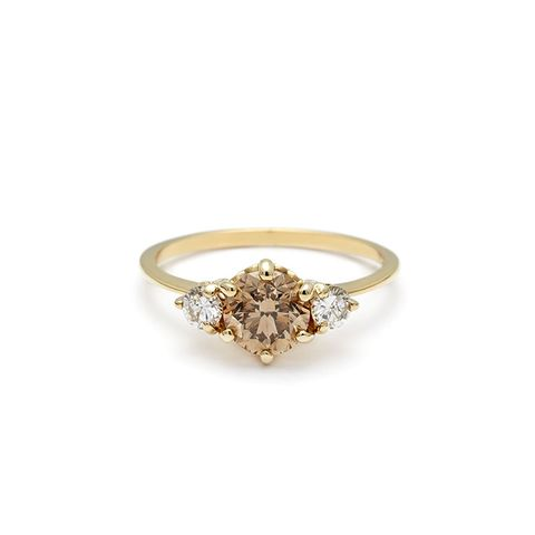 hazeline three stone ring - Nontraditional Wedding Rings