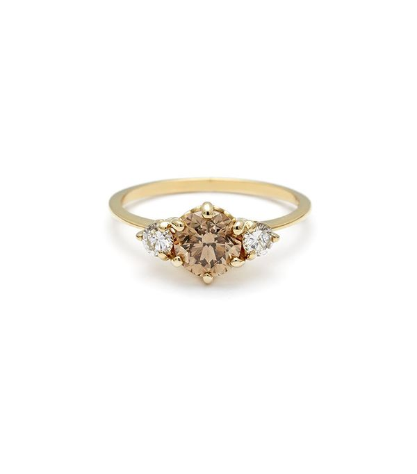 Stunning Non Traditional Wedding Rings Mydomaine Au