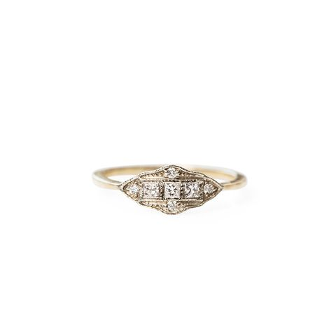 Stunning Non Traditional Wedding Rings Mydomaine