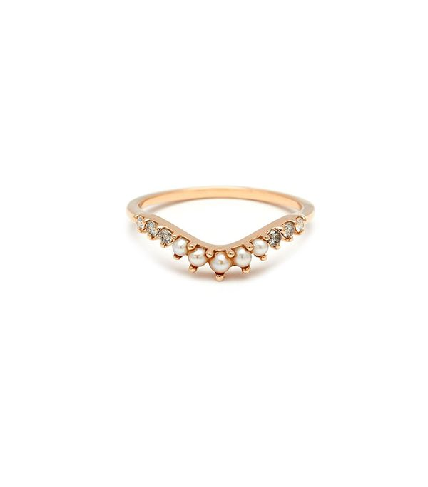 Set Free diamond & yellow-gold ring