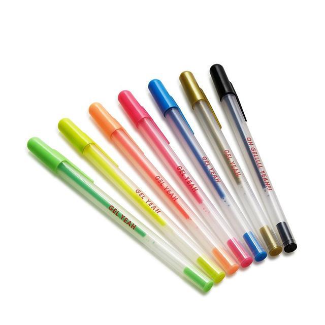 ban. do Gel Yeah 7-Piece Pen Set