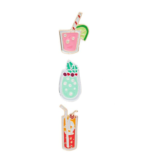 Drink Pack Of 3 Pins