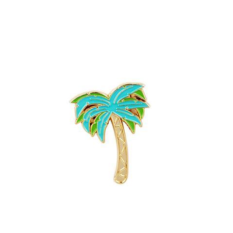 Palm Enamel Pin
