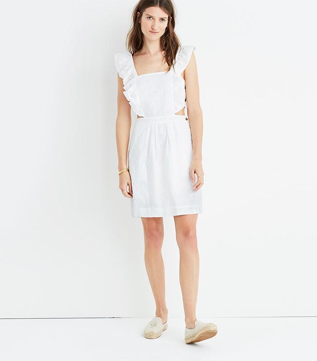 Eyelet Cutout Dress