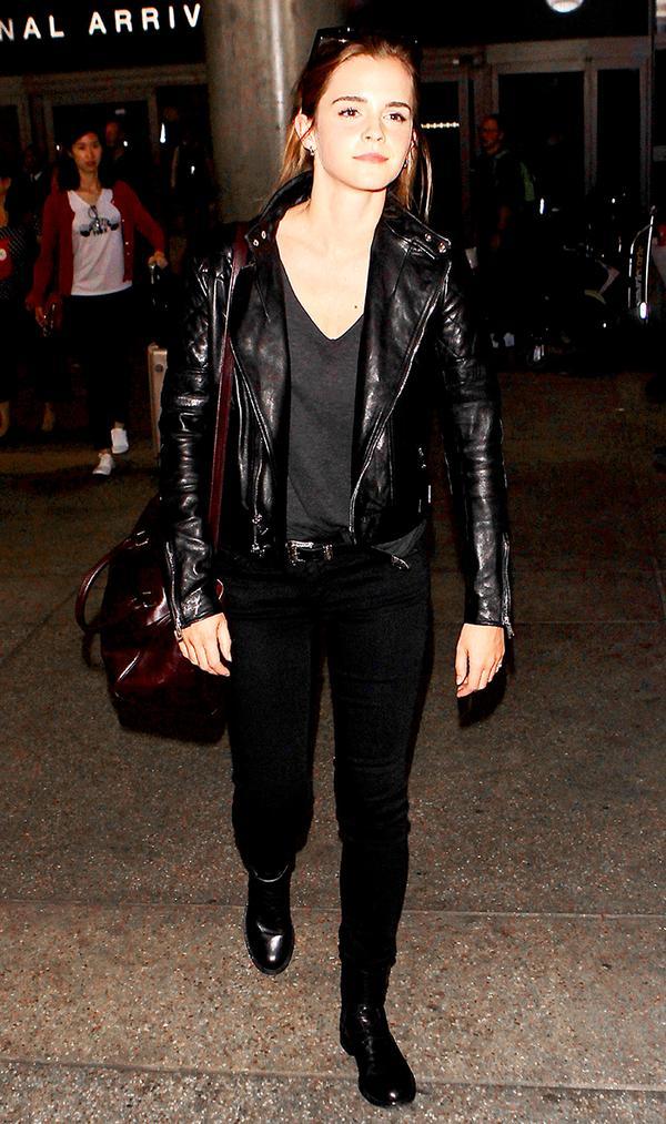 Emma Watson Airport Style