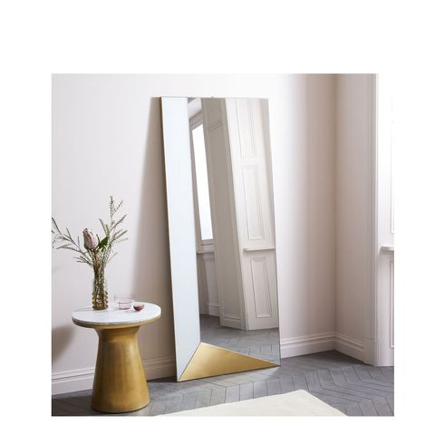 Geo Shapes Floor Mirror