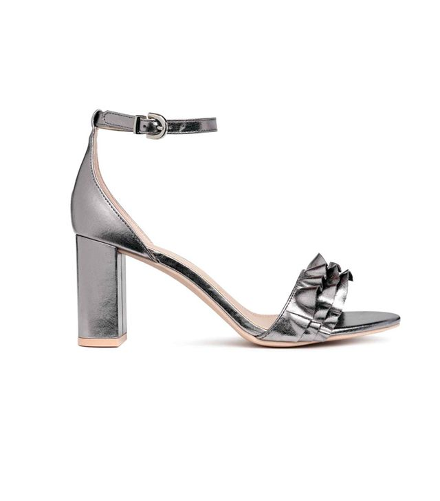 H&M Sandals in Silver