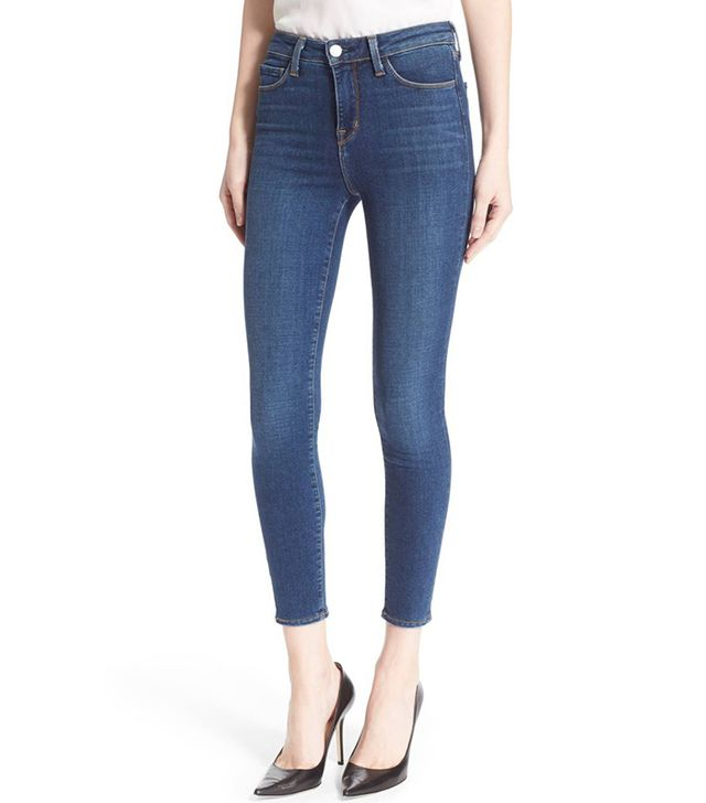 Women's L'Agence Margot High Waist Crop Jeans