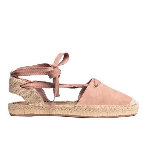 Espadrilles With Lacing