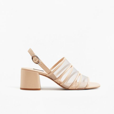 See-Through Straps Sandals