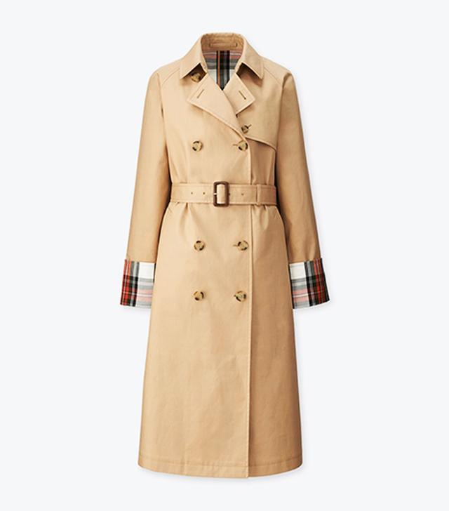 J W Anderson x Uniqlo: Tartan trench coat