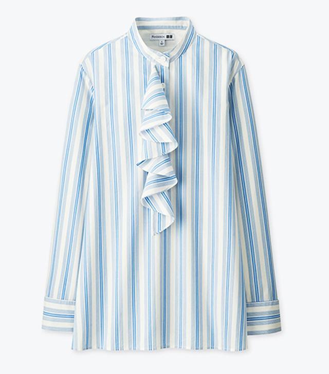 J W Anderson x Uniqlo: ruffle shirt