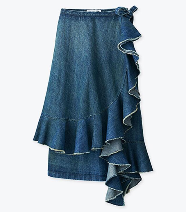 J W Anderson x Uniqlo: denim skirt