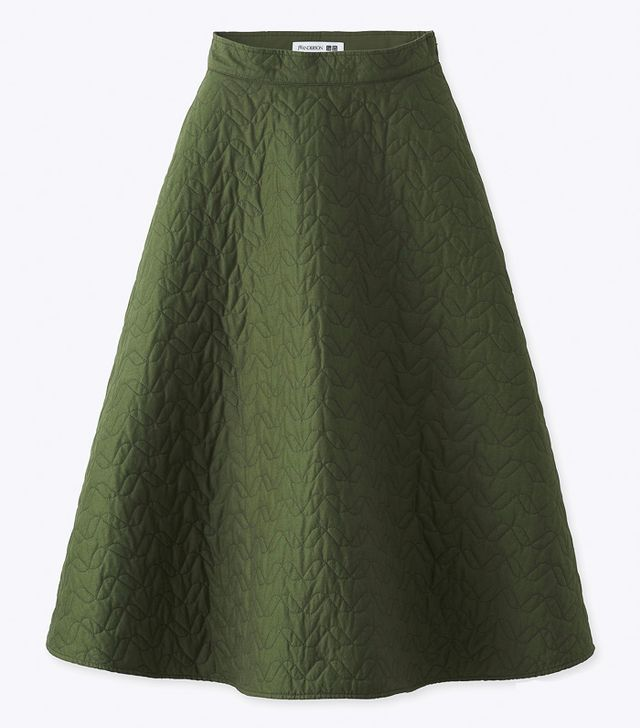 J W Anderson x Uniqlo: Quilted Skirt