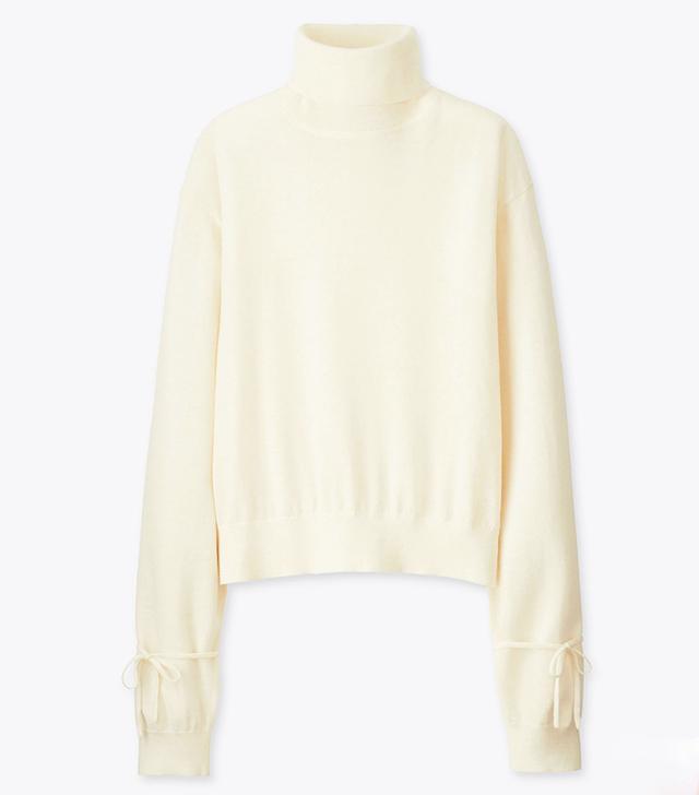 J W Anderson x Uniqlo: Oversize Extra Fine Merino Turtle Neck Sweater