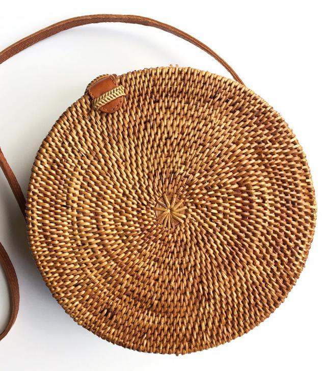 Best round bags: Wood Grey bag