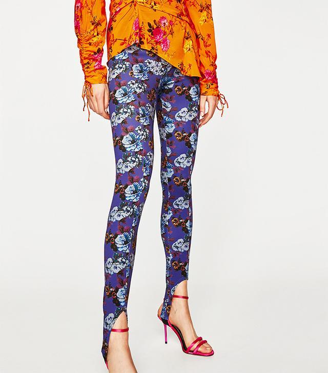 Zara Printed Leggings