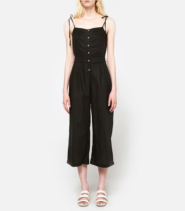 Maestra Jumpsuit in Black