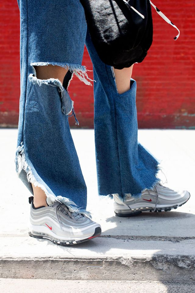 how to wear air max 95 with jeans