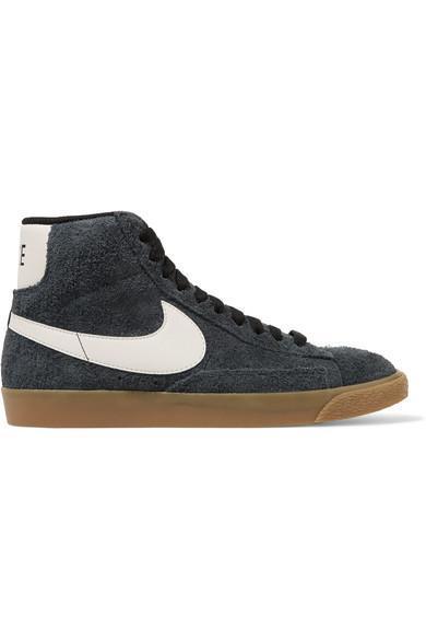 Blazer Mid Suede High-top Sneakers