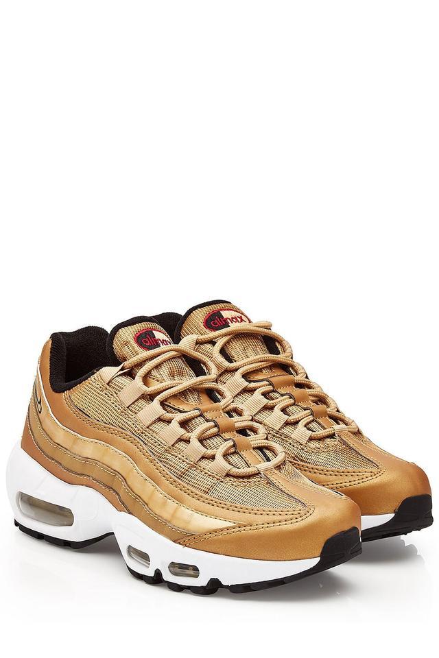 Air Max 95 Metallic Gold Sneakers