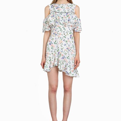 Phoebe Floral Asymmetric Dress
