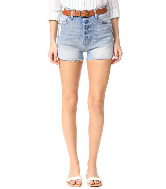 tulip-hem shorts