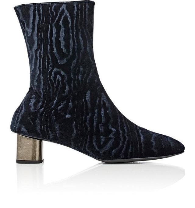 Women's Plopt Velvet Ankle Boots