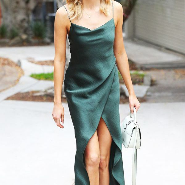 Slinky Slip Dresses Perfect for Summer Nights