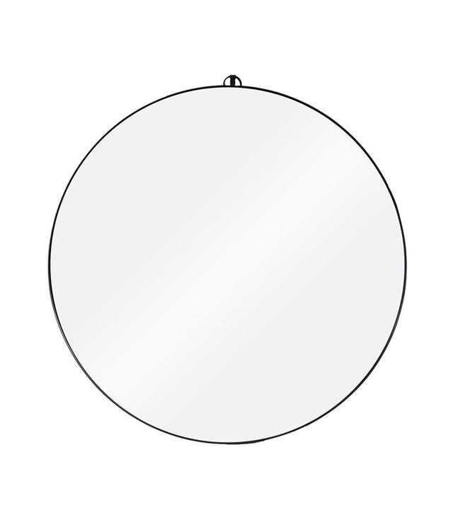 Consort Round Metal Framed Mirror