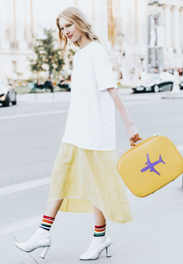 What to wear to get upgraded on a flight:
