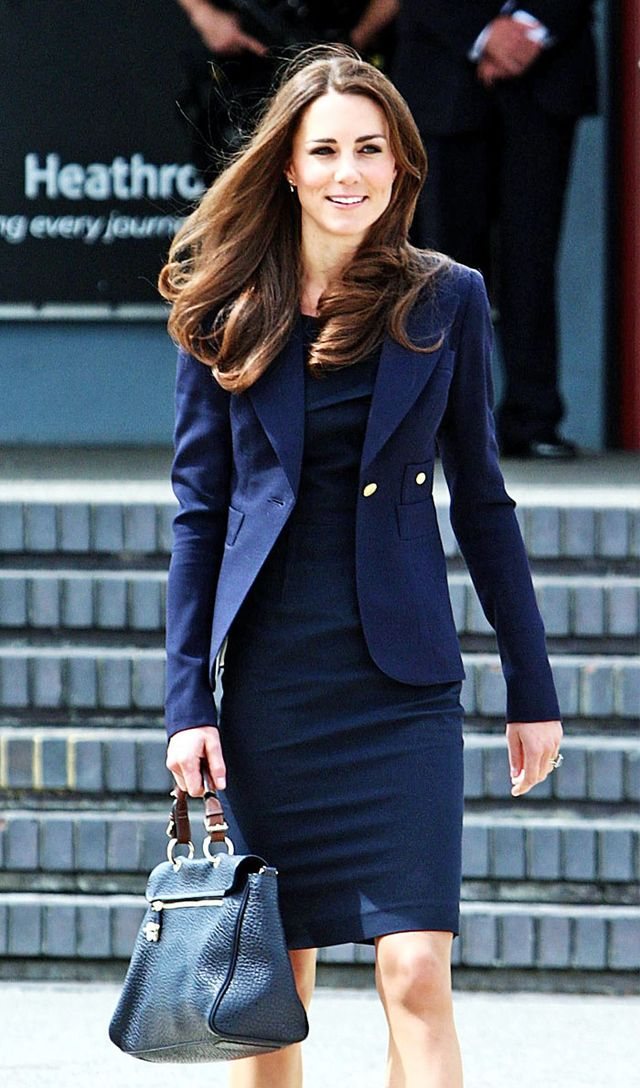What to wear to get upgraded on a flight: the Duchess of Cambridge