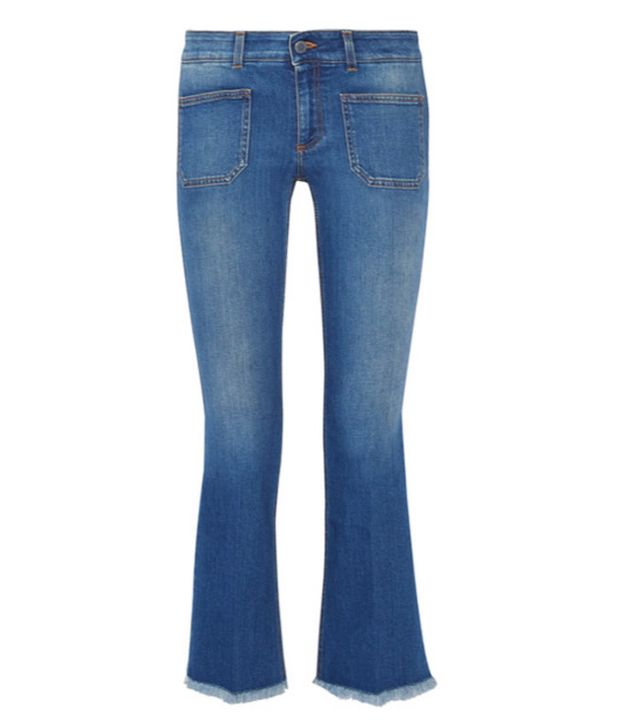 Low slung jeans: Stella McCartney
