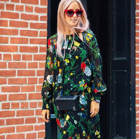Graduation Outfit Ideas: The Failsafe Floral Midi Dress
