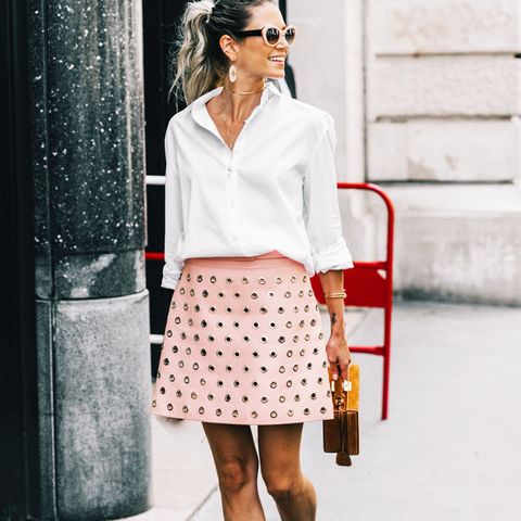 Graduation Outfit Ideas: Something Pink