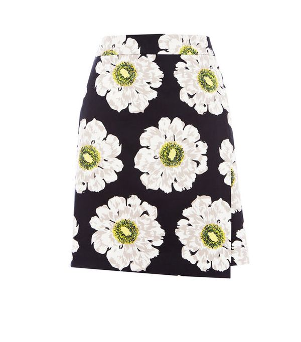 graduation outfit ideas: warehouse melody skirt