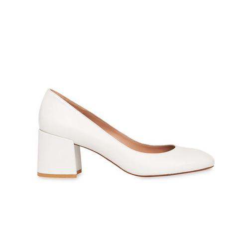 Esther Block Heel Court Shoe