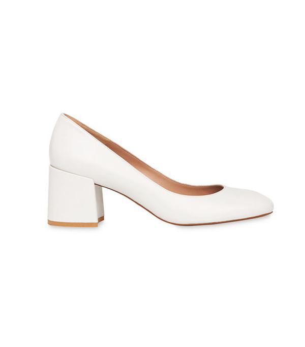 Graduaton outfit ideas: Whistles Esther Block Heel Court Shoes