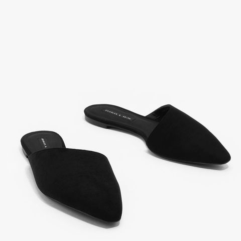Pointed Assymetrical Mules