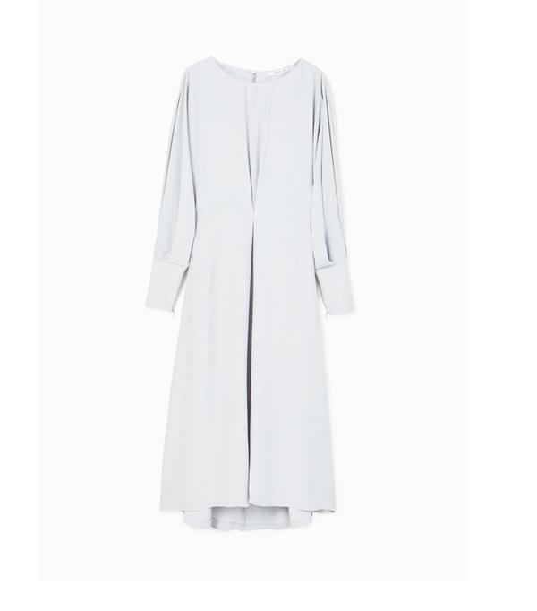 Graduation outfit ideas: Mango Puffed Sleeve Dress