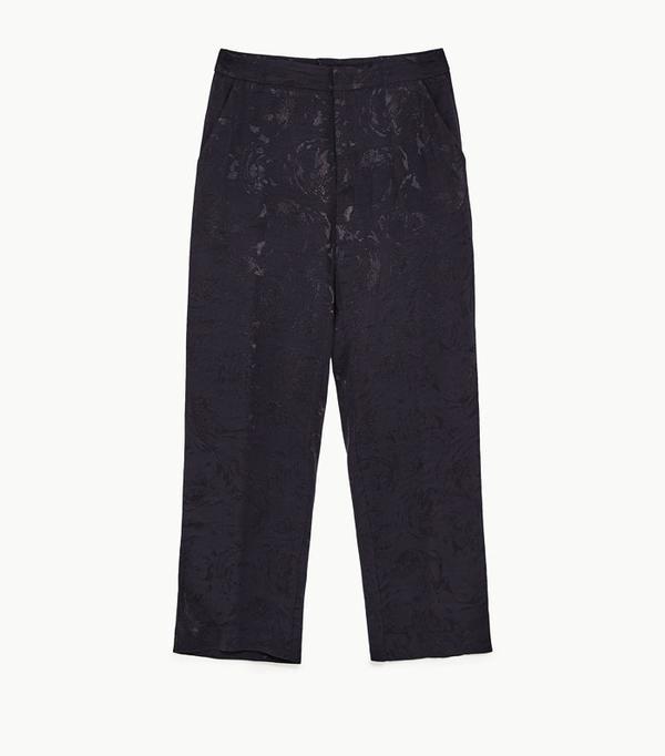 Graduation outfit ideas: Zara flowing jacquard trousers