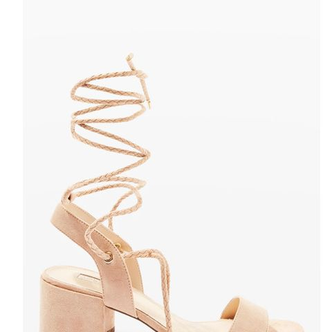 Nevada Ankle Tie Sandals