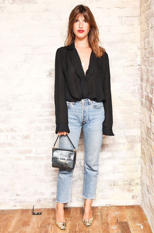 French office attire: Jeanne Damas