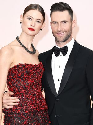 Behati Prinsloo Celebrated Her Anniversary With This Cute Photo