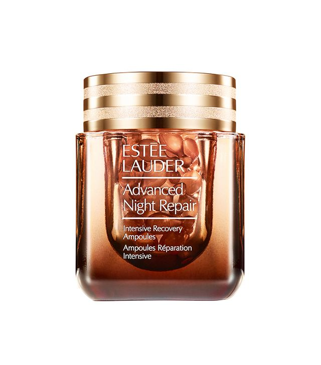 Estee Lauder Advanced Night Repair Intensive Recovery Ampoules - french makeup look