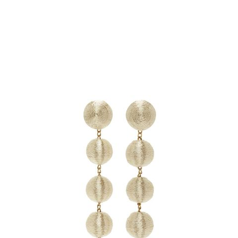 The Shimmy Six Drop Skinny Earrings