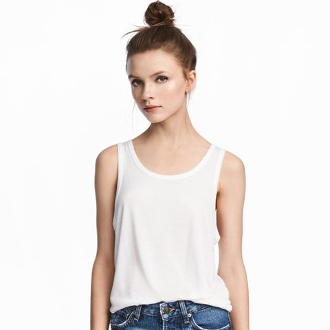 Wide-Cut Tank Top