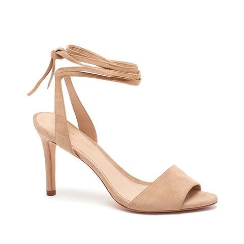 Elyse Ankle Tie High Heeled Sandal