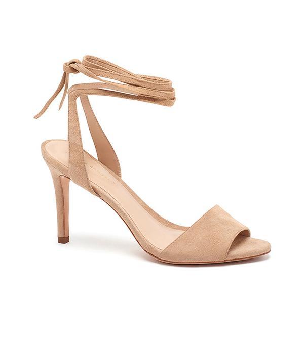 Loeffler Randall Elyse Ankle Tie High Heeled Sandal